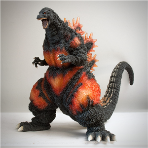 X-Plus Gigantic Burning Godzilla
