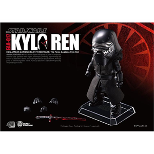 Star Wars Episode VII Egg Attack Action #017 Kylo Ren