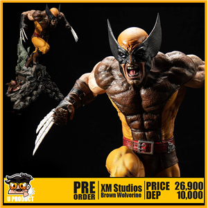M Studios 1/4Scale Brown Wolverine