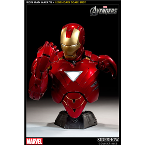 iron man mark vi bust