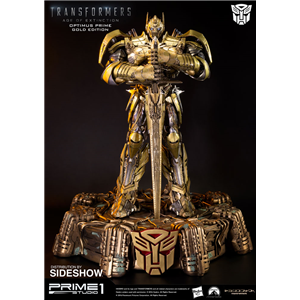 Prime 1 Asia Exclusive Optimus Prime Gold Knight Version