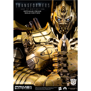 Optimus prime gold