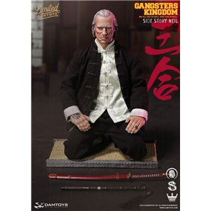 DAMTOYS CICF 2016 EXCLUSIVE GANGSTERS KINGDOM SIDE STORY - NEIL 1/6 SCALE ACTION FIGURE GKS004
