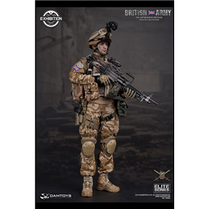 DAM TOYS CICF 2016 EXCLUSIVE ELITE SERIES BRITISH ARMY IN AFGHANISTAN MINIMI GUNNER 1/6 SCALE ACTION FIGURE 78036
